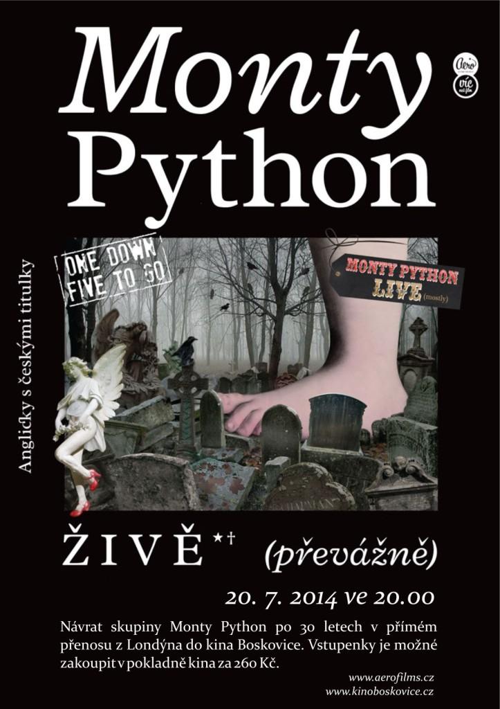 Monty Python plakat Boskovice