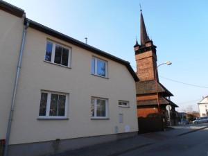 dreveny kostel