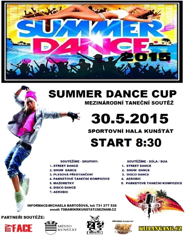 1. SUMMER DANCE CUP