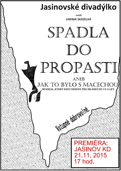 spadla do propasti