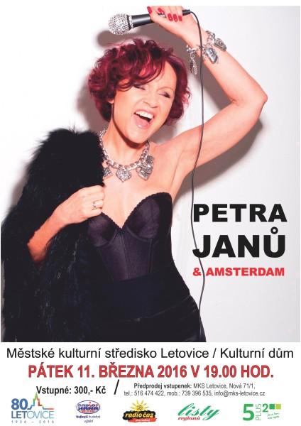 Plakát Petra Janů