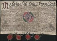 Artikuly krejčovského cechu v Kunštátě z 24. dubna 1638. Státní okresní archiv Blansko.
