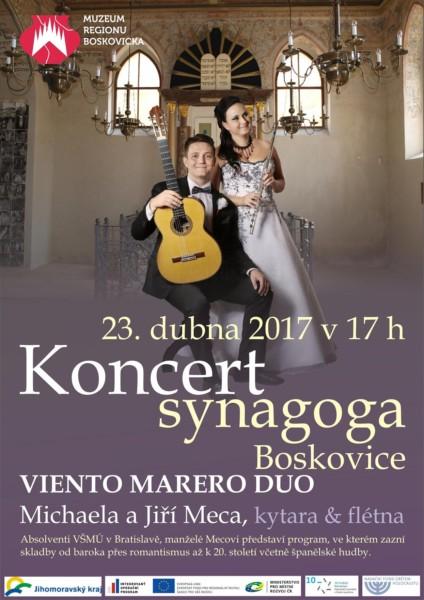 Koncert Meca, synagoga