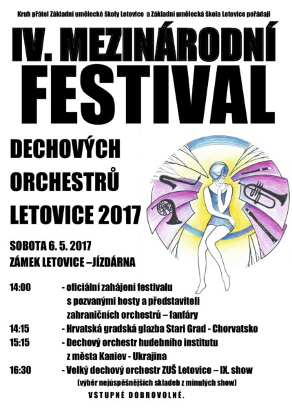 Plakát IV. mezinárodní festival