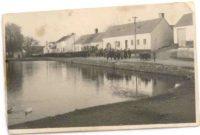 Náves - rybník 50. léta