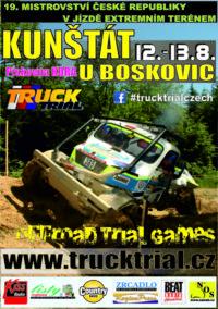Truck trial plakat KUNSTAT 2017