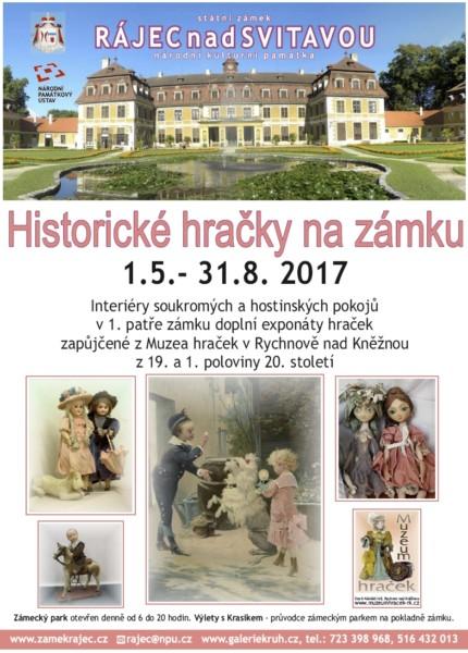historicke hracky na zamku