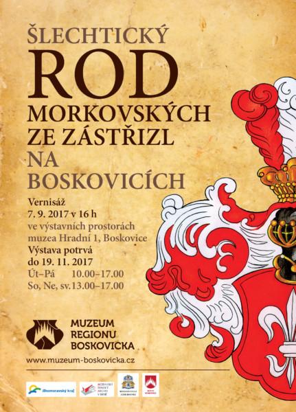 výstava Morkovští na Boskovicích