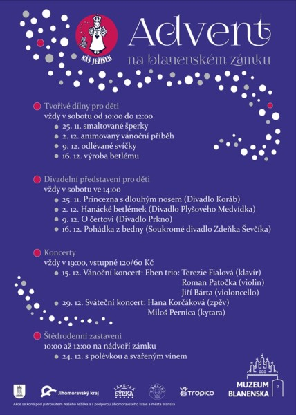 Plakát advent program