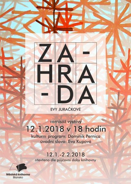 Juračková_Zahrada_plakát