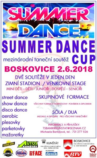 Summer dance cup 2.6.2018